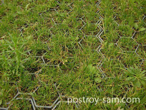 Садовые решетки для дорожек