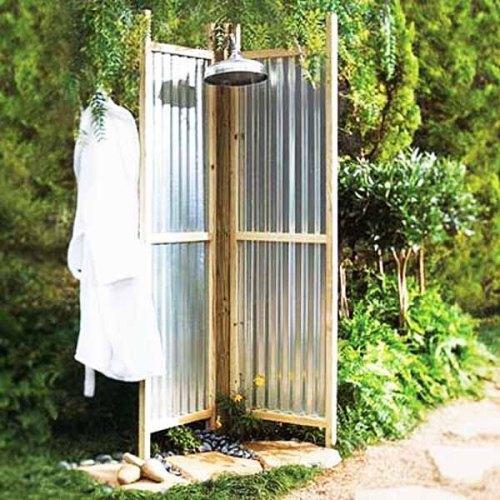 Какой сделать (выбрать) летний душ для дачи?