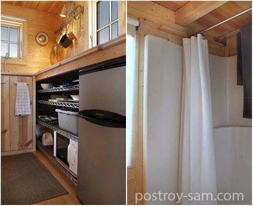 Кухня и душ
