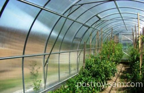 Усовершенствование теплицы «Урожай»