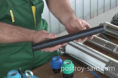 Труба для подъема воды из скважины