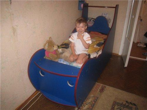 Детская кровать своими руками. Кровать-автомобиля для ребенка