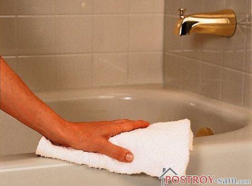 Правила для ванной комнаты, чтобы в ней не завелся грибок