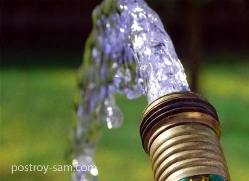 Нужно ли экономить воду из собственной скважины?