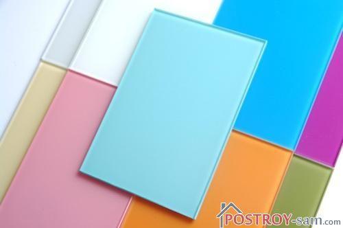 Как покрасить стекло