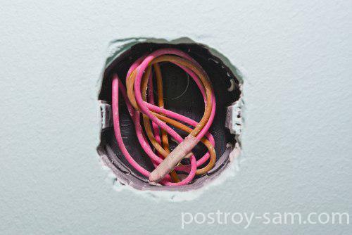 Провода для подключения выключателя