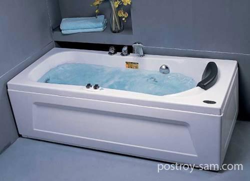 Какими бывают основные виды ванн с гидромассажем?