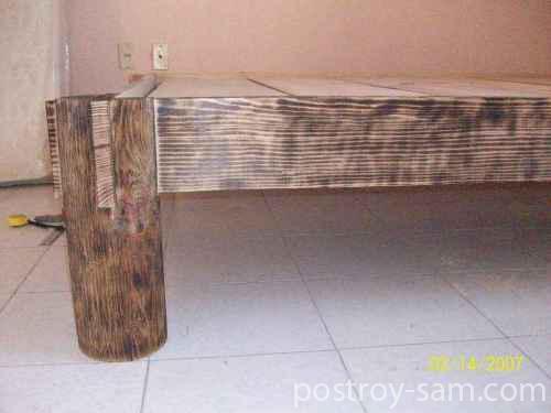 Обожженная кровать