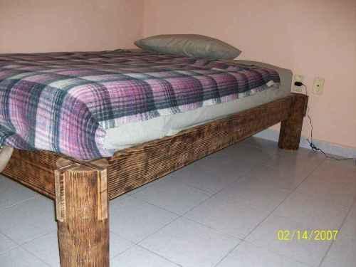 Деревянная кровать для дачи — просто и быстро!