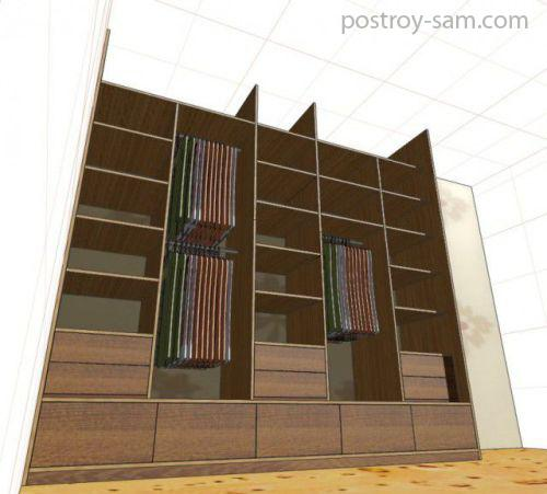 Проект шкафа