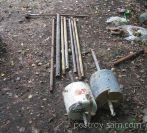 Самодельное оборудование для бурения скважины