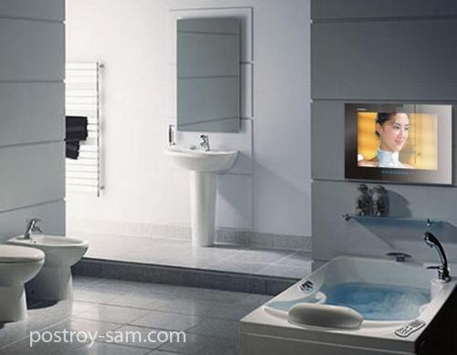 Как выбрать телевизор для ванной?
