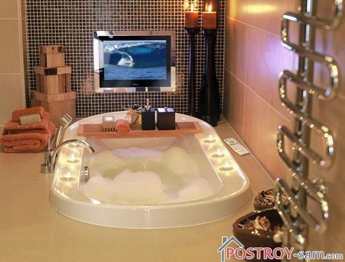 Как выбрать телевизор для ванной комнаты?