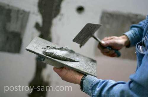 Технология штукатурки стен