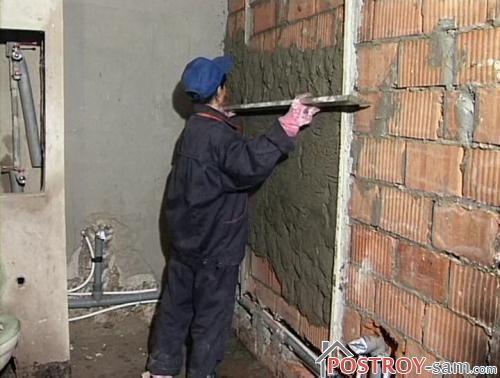 Технология штукатурки стен своими руками