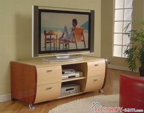 Красивая тумба под телевизор