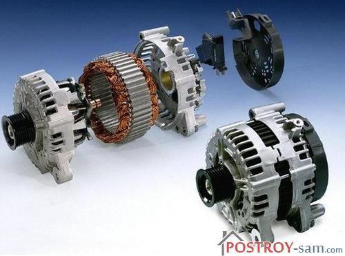 Виды генераторов в зависимости от типа альтернатора