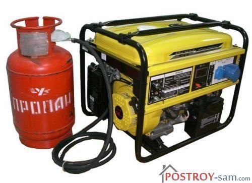 Газовые генераторы для дома и дачи