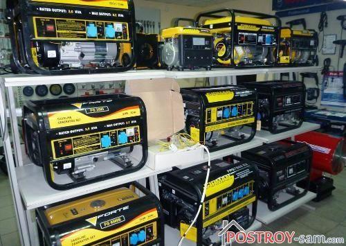 Производители генераторов и цены на генераторы