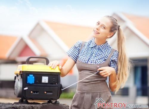 Выбор генератора для дома и дачи в зависимости от силовой установки