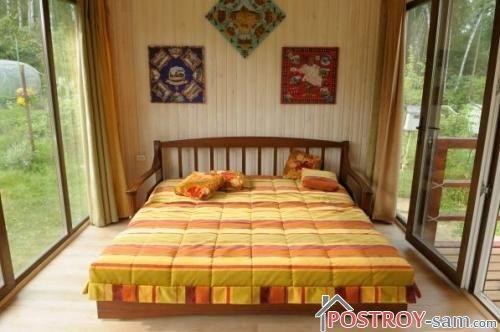 Интерьер дачного домика с террасой фото