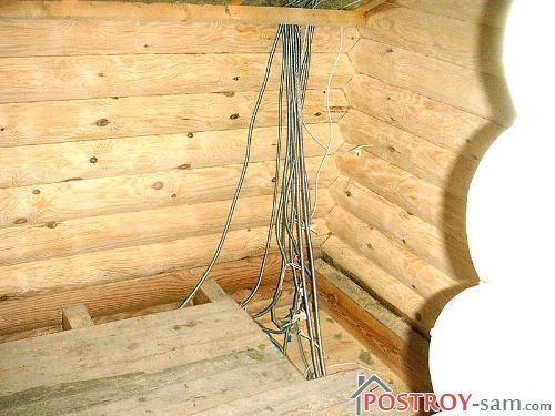 Электрика в полу