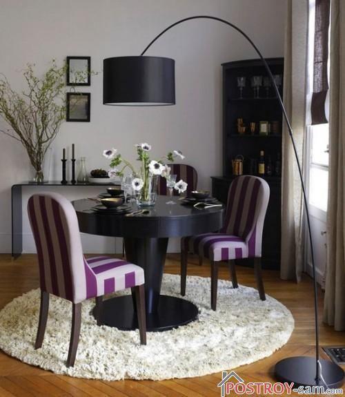 Идеальна форма ковра для гостиной