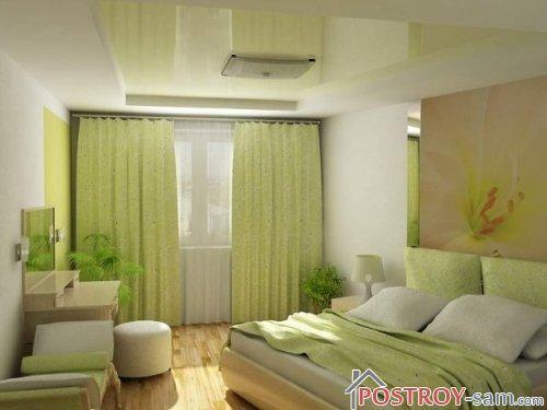 Современная красивая спальня
