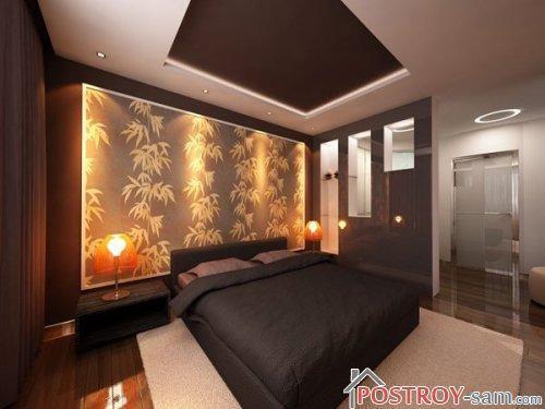 Стильняя спальня фото