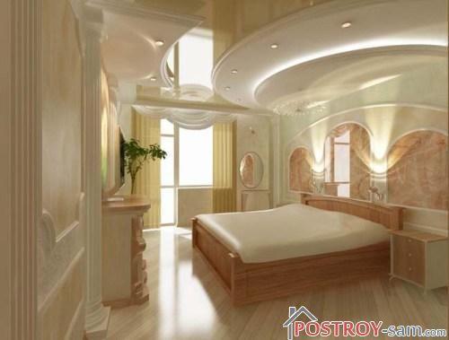 Проект красивой спальни