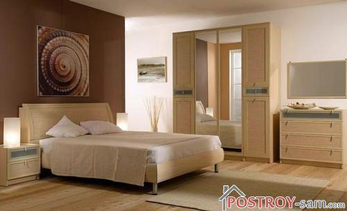 Меблированная спальня