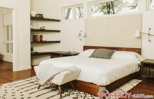 Фото кровати из массива