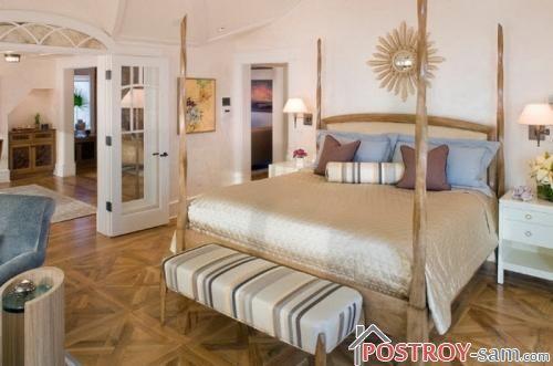 Натуральная деревянная кровать