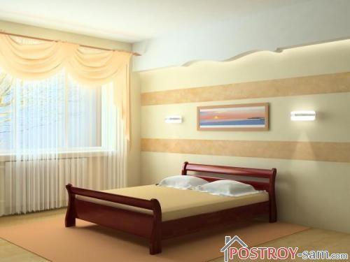 Двуспальные кровати из массива дерева фото
