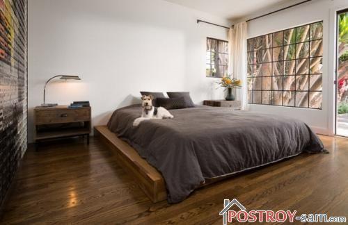 Кровать в спальню фото
