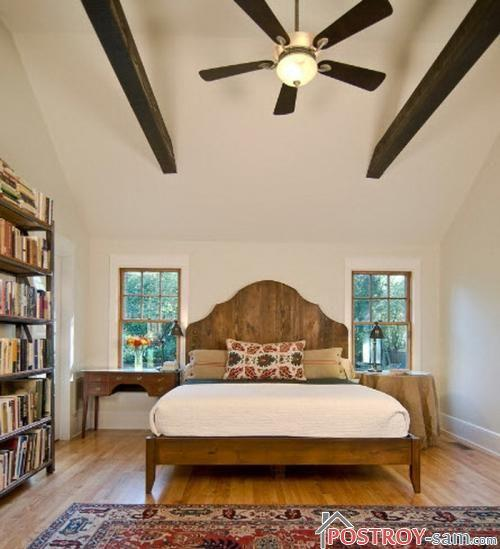 Как установить кровать в спальне