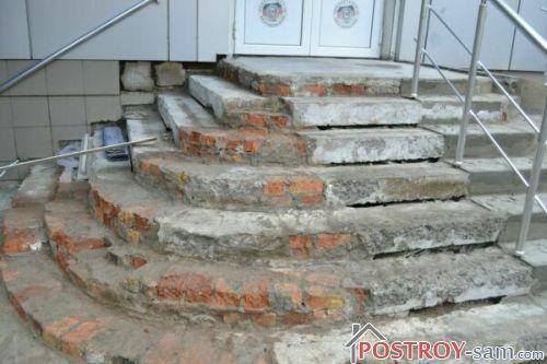 Ошибки при строительстве крыльца в дом
