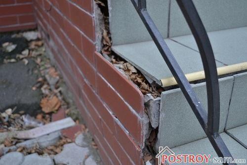 Крыльцо в дом. Основные ошибки при строительстве