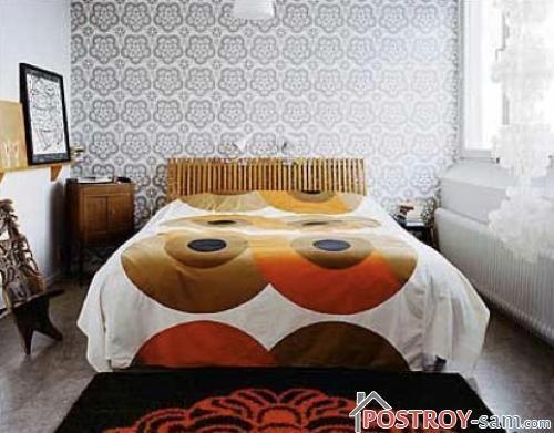 Спальня только с кроватью