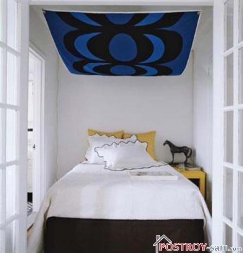 Очень маленькая спальня фото