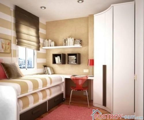 Небольшая детская спальня