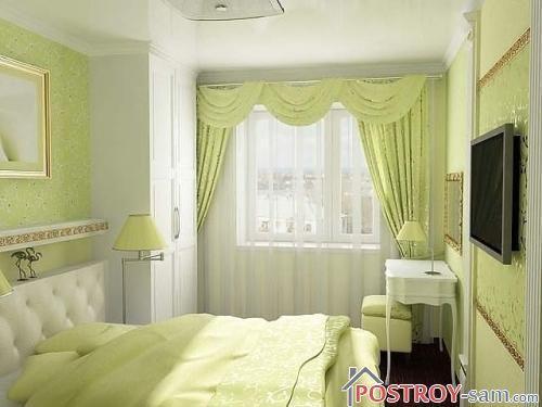 Маленькие спальни фото