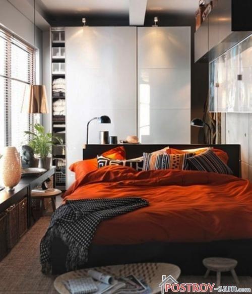 Фото небольшой спальни
