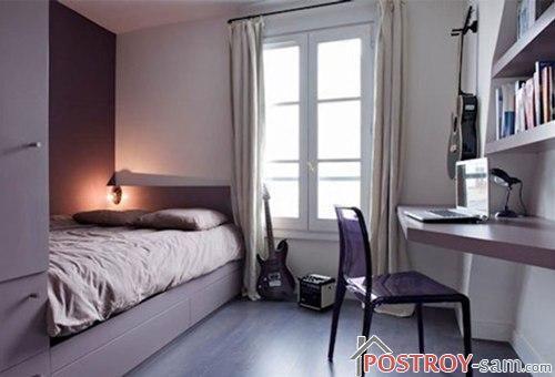 Маленькая спальня музыканта