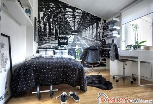 Как визуально увеличить спальню