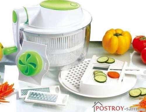 Механическая овощерезка Salad Marker Set