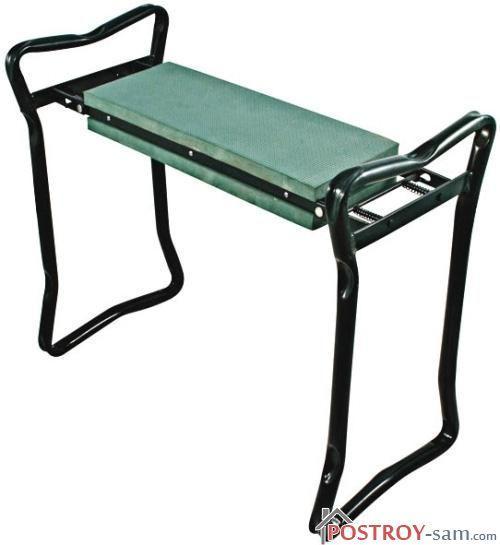Складная металлическая скамейка