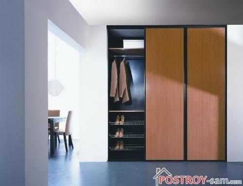 Место для обуви в шкафу