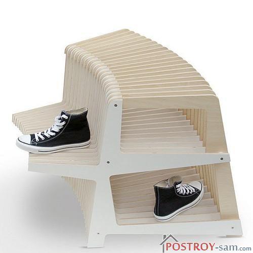 Современная галошница для обуви
