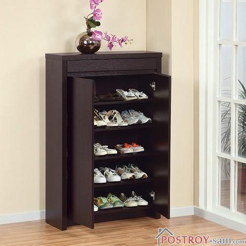 """Шкаф для обуви """"Бона"""". Фото"""